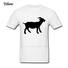Zodiac Sign Capricorn Goat Farmer Cheese Animals Tshirt Man Summer Print O-neck Male Clothes Cotton Graphic T-shirt Boys Shirt