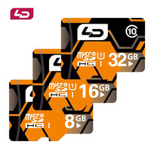 LD Memory Card Micro sd Cards tf card 32GB 16GB 8GB Class 10 UHS-1 mini sd card for cell phones tablet navigator CAR DVR