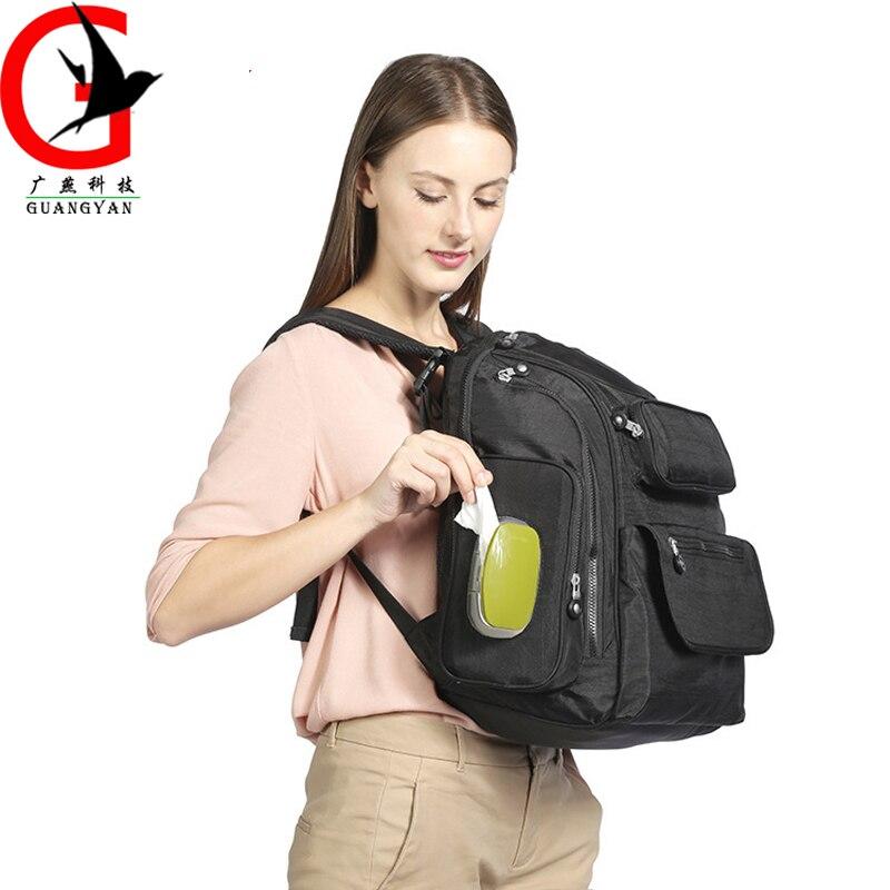 Waterproof Stroller Bag Mom Bebe Baby Diaper Bag Shoulder Bag Maternity Mummy Diaper Nappy Organizer Changing pad Bag Backpacks<br>