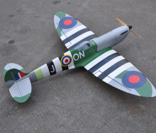 HAIKONG SPITFIRE 25E 48.4 INCH Electric RC Model Airplane A041 US Stock