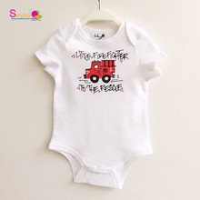 High Quality Cotton Car Prints Letters Comfortable Organic Cotton Unisex Babies One Piece Clothes Fashional Infants Rompers