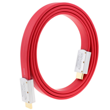4K HDMI 2.0 Flat Cable Wire Male To Male with metal head 1m 1.5m 2m 3m 5m 10m 15m 20m 25m 30m 40m 50m 19+1 Standard Certified(China)