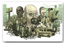 Custom 40x60cm Door Mat For Living Room Breaking Bad Cartoon Doormat Bedroom Rug Floor Mats Christmas Gift