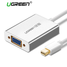 Ugreen Thunderbolt Mini DisplayPort DP To VGA Adapter Cable Male to Female Mini DP to VGA Converter for Apple MacBook Air Pro(China)