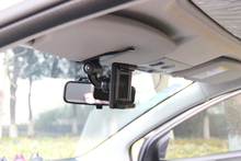 Clip Rotary Car Sun Visor Mobile Phone Holders Stands Mounts For Doogee Dagger DG550,Shoot 1,X9 MINI T5S X9 Pro X7 Pro T6 Pro