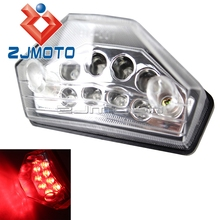Clear Motorcycle Supermoto LED Tail Light Stop Brake Light Motorcycle Dual Sport ATV KTM EXC MXC Super Moto 450 F(China)