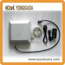 YongKaiDa Long distance read range 5m uhf rfid reader with 500pcs Alien H3 9654 PET uhf sticker tags(China)
