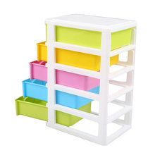 Mini Storage Cabinet Box Drawer Type Debris Jewelry Cosmetics Multifunction