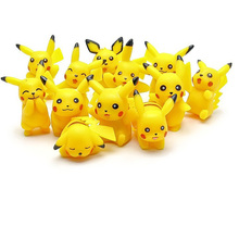 PVC Puppets Pikachu Figures Toy Vinyl Doll Anime Cartoon Toys For Children Decoration Dolls Movie&TV Model Gift  Funny Toy