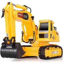 Olympian remote control engineering truck remote control car excavator hook mining machine toy automodelismo eletricos
