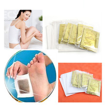 5 pairs Adhesives Detox Foot Patch Bamboo Pads Patches With Adhesive Improve Sleep Beauty Slimming  M01024