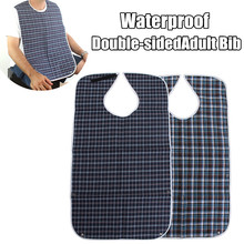 Kitchen Apron Bib Waterproof Large Adult Mealtime Clothes Protector Dining Cook Ajustable Delantal Clothing Disability Aid Apron