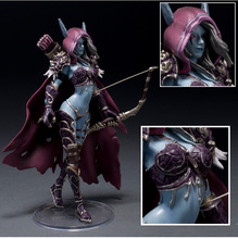 "WOW Darkness Ranger Lady Sylvanas Windrunner 7"" PVC Action Figure Collection Model Toy"