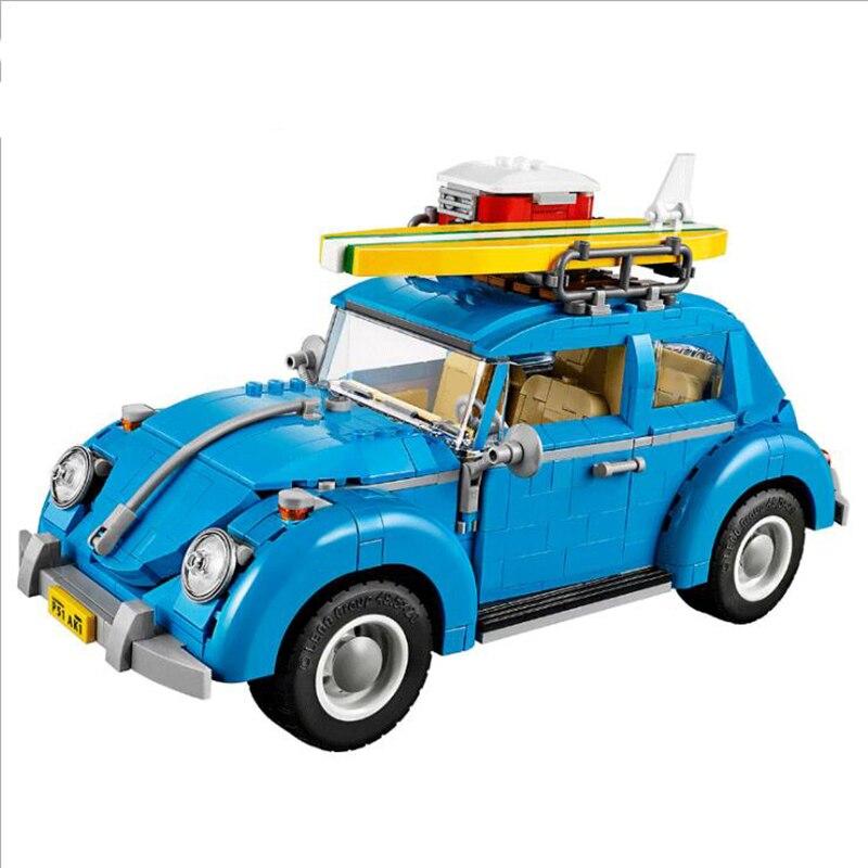 Yile 003 Creator Series City Car Beetle Building Blocks 10252 lepin technic bricks 21003 action figure vehicle toys for children<br>