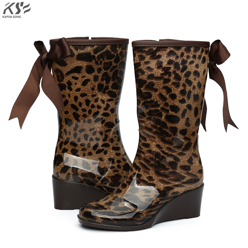 women rain boots waterproof lady rainboot luxury designers shoes women rainwear rubber environmental comfortable shoes female<br>