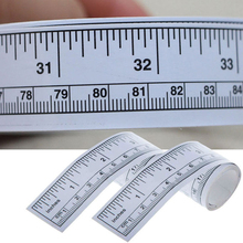 Vinyl Silver Self Adhesive Metric Measure Tape Rulers DIY Sewing Measuring Tape Ruler for Home Sewing Machine Sticker Tools