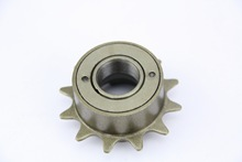 Durable  BMX Bike Bicycle 12T Tooth Single Speed Freewheel Mountain Bike Bicycle Flywheel Cassette Tool Parts Brown