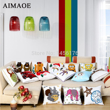 The new fashion and lovely embroidery cushion for leaning on of cartoon design 50 * 50 wholesale hold pillow