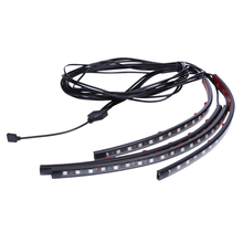 High Quality RGB LED Light Strip A New Of Automotive Atmosphere Lights Car Lnterior Lights Music Control Car Light Source(China)