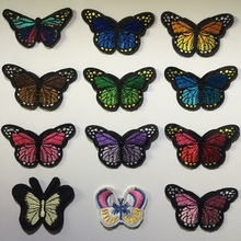 Fabric Butterfly Costume Embroidered Clothes Patches,Animal Cartoon Sew On/Iron On Patch,Clothing For Bikers,Jackets,Backpacks