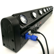 Free Shipping LED Bar Beam 8x12W RGBW Quad Moving Head LED Stage Light Fast Shipping(China)