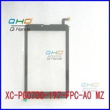 Free shipping 7'' inch touch screen,100% New for XC-PG0700-197-FPC-A0 touch panel,Tablet PC touch panel digitizer sensor