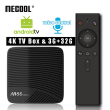 Buy MECOOL M8S Pro L 3G 16G 32G Voice Control Smart TV Box Amlogic S912 Octa Core Android 7.1 Set top Box Dual WiFi 4K Media Player for $62.67 in AliExpress store