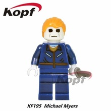 Single Sale Buffy the Vampire Slayer Series The Horror Theme Movie Michael Myers Carrie Hannibal Building Blocks Kids Toys KF195