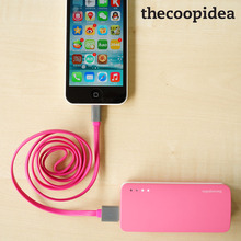 TheCoopIdea Lightning Cable /Micro USB Cable Fast Charging For iPhone iPadiPod Smartphones MFI certified 1 meter black blue pink