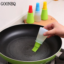 GOONBQ 1 pc Grill Oil Bottle Brushes Silicone Liquid Oil Pen Cake Butter Bread Pastry Brush Baking BBQ Utensil Basting Brush