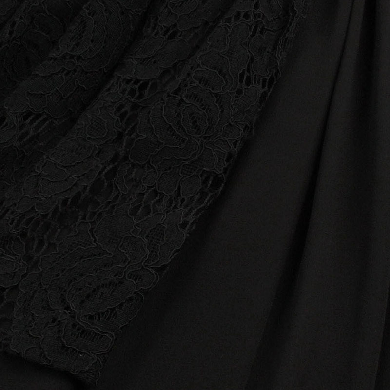 Rosetic Gothic Maxi Dress Black Asymmetric Women Summer Lace A-Line Fashion Wild Punk Street Rock Sequined Mod Goth Maxi Dresses 15