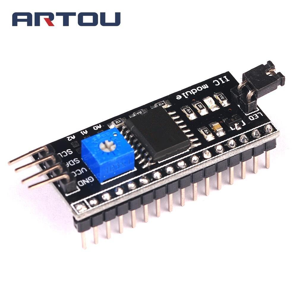 1PCS IIC I2C Interface 1602 LCD1602 Adapter Plate
