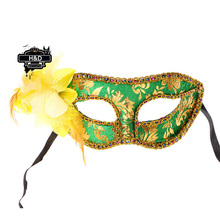 Flower Pattern Venetian Masquerade Ball Masks Flower Princess Masked Fancy Dress Halloween Party Fany Costume Lace Eye Masks