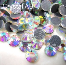 Cheap Hot Fix  DMC Hotfix ss20 Crystal AB Rhinestone Crystal  Stones1440pcs/bag CPAM free Use for Heat Transfer Glass Crystals
