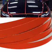 1cm*5m Reflective Tape Sheeting Car Styling Reflect Sticker Auto Motorcycle Bike Decoration Decal Whole Body Color Strip Sheet