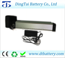 new arrival rear rack DTB 36V 10ah long cycle LiFePO4 LFP battery pack with charger(China)