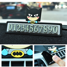 Buy Cartoon creative temporary parking card phone number car sticker number table for $7.72 in AliExpress store