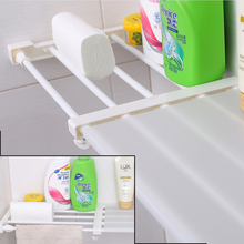New Sale Wardrobe partition storage rack cabinets holder organizers nail free telescopic spacer frame Clothes rack kitchen shelf