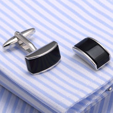 10pair per lot VAGULA Onyx Cufflinks French Shirt Cuff links Quality Gemelos Men Jewelry Links 379(China)