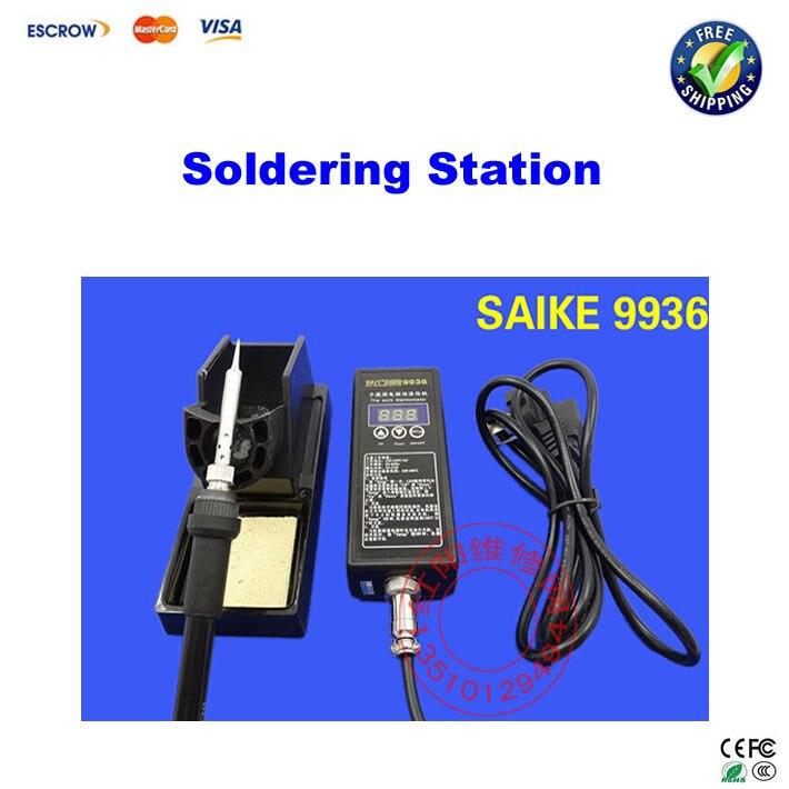 Saike 9936 solder station Anti-static Solder Iron Soldering Station<br><br>Aliexpress