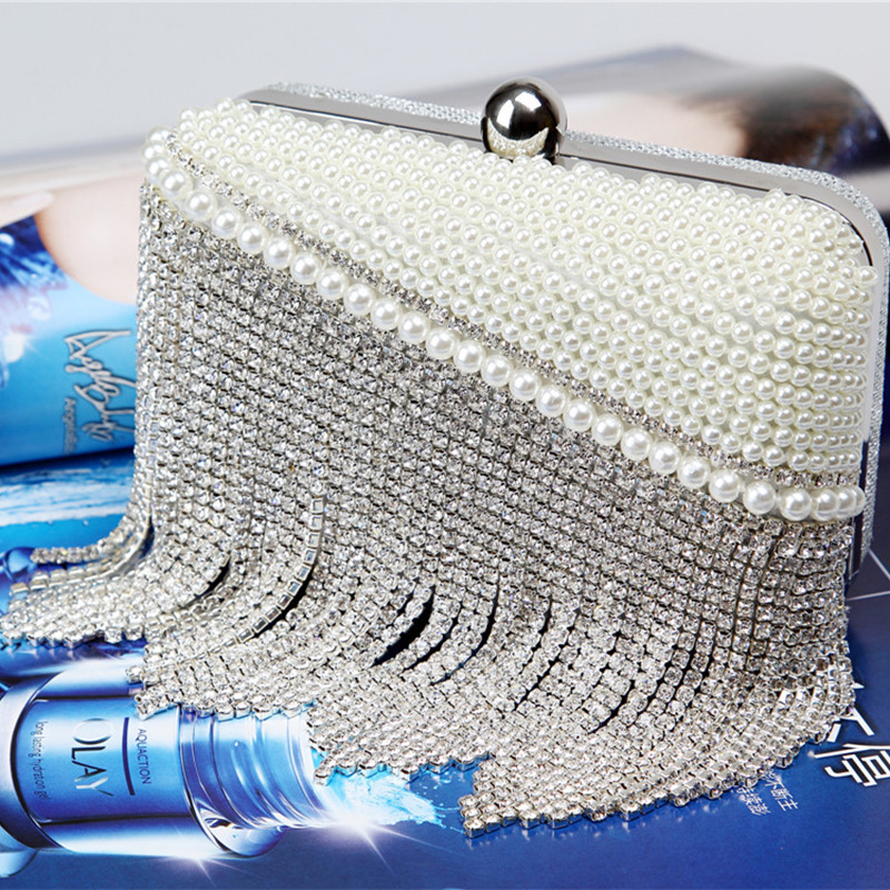 Free Shipping 2017 NEW Fashion Design Womens Handbag Evening Bags Shoulder Chain Bags For Party Wedding Dinner Bags WNS002<br>