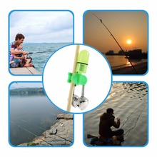 2pc Outdoor Twin Rod Bells Ring Fishing Bait Lure Accessory alarm product Newest New Brand
