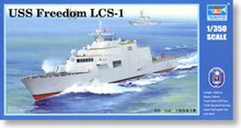 Trumpeter 1/350 scale model 04549 US Navy Freedom Level LCS-1 Free Littoral Combat Ship *