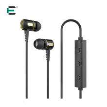 ET Metal bass Brand Bluetooth Earphone With Mic Wireless Earphones Sport Running Bluetooth Stereo Auriculares For Samsung Xiaomi