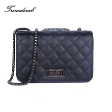 Trenadorab Vintage Diamond Lattice Handbags Women Leather Crossbody Bags Small Purse And Clutch Chain Brand Women Shoulder Bags