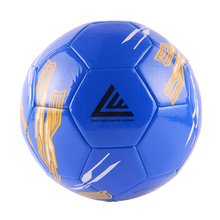SOCCER BALL 5 SIZE Color High PU material official standard kick big football(China)