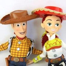 Muñeca de juguete historia 3 hablando Woody Jessie Pvc figura de acción  modelo coleccionabke juguete muñeca 43842ce633a
