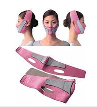 100pcs/lot Face Slim Belt Face Mask Slimming Facial Massager double Chin Shaper Face Lift Health Care(China)