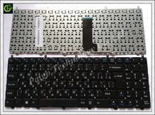 Russian RU Keyboard for HASEE DNS Clevo K610C I5 I7 D1 D2 K650D k590C K570N series Black laptop Keyboard