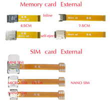 10 styles Hybrid Double 2 Dual Nano SIM Card Adapter Converter micro memory sd card Extender for XIAOMI REDMI NOTE MAX mi 4 5